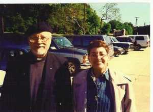 Fr. Emmeran Frank, OFM, and Patty.jpg