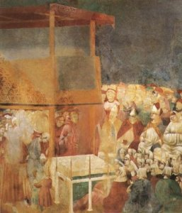Giotto Canonization of St. Francis