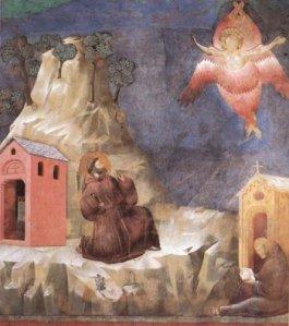Giotto Stigmata St. Francis