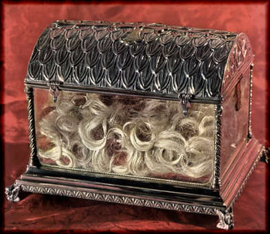 Relic of Hair of St. Clare of Assisi