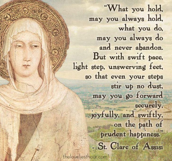 Saint Clare LETTER to Agnes