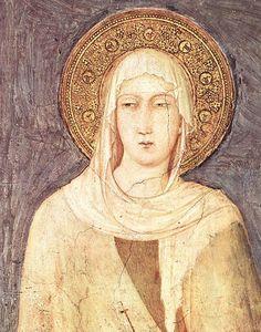 Saint Clare - Simone Martini