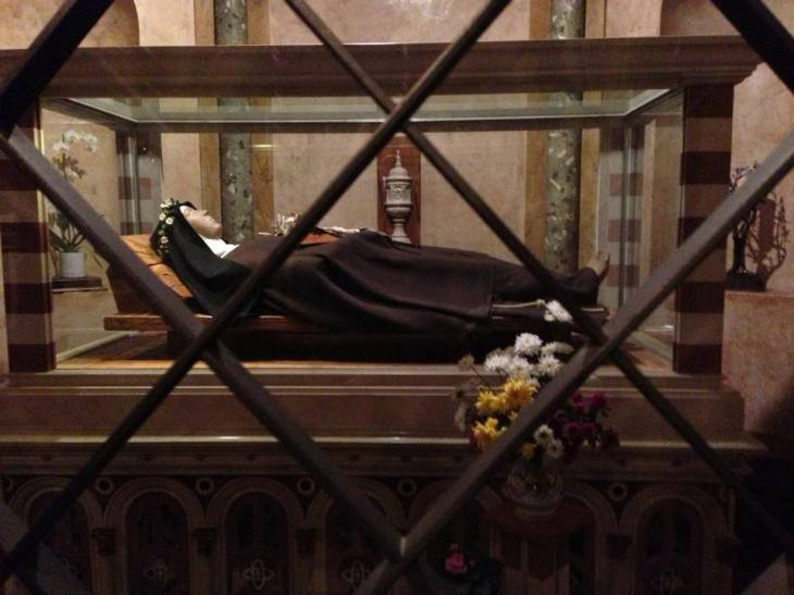 St. Clare Incorruptable Body